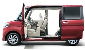 軽自動車でもスライドドアを採用し大人気となったダイハツのタント